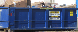 Call our Minnesota Dumpster Rental company for your Roll Off Container needs